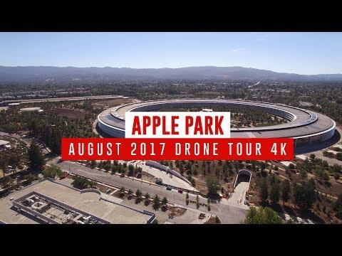 Latest Apple Park Drone Video Shows More Trees and Paved Walkway to Steve Jobs Theater