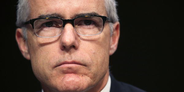 Former FBI deputy director Andrew McCabe says Trump is 'threatening members of law enforcement' in targeting officer who…