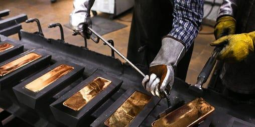 3 reasons why gold prices have struggled lately, according to Bank of America