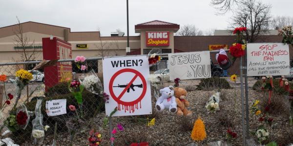 After supermarket shooting, Colorado is…