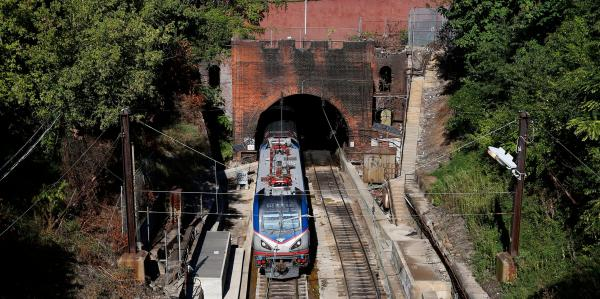 photo of An 1870s-era rail tunnel used by Amtrak could be a possible beneficiary of federal infrastructure funding image