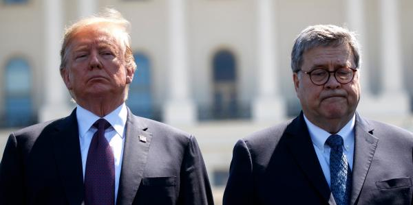 photo of Trump asked Bill Barr 'How the f--- could you do this to me?' after he told AP there was no evidence of widespread… image