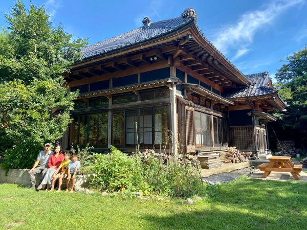 A couple bought an abandoned farmhouse in rural Japan for $30,000 and has spent 2 years renovating it. Here's how they…
