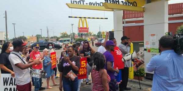 McDonald's workers are staging another…