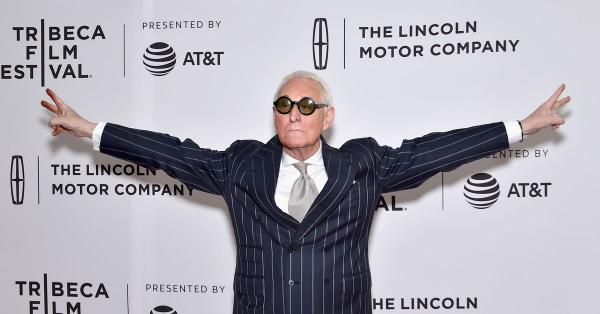"""photo image Twitter has booted Trump troll Roger Stone after he said CNN anchor Don Lemon should be """"punished"""""""