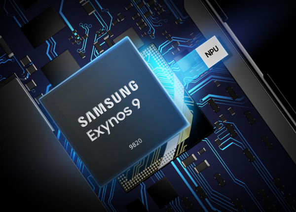 Samsung's 8-nanometer Exynos 9820 is 20 percent faster in single-core tasks