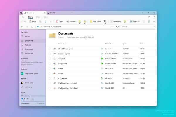 photo of Report: 2019 will be the year Microsoft updates File Explorer with the new Fluent Design image