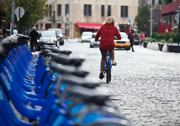 Lyft adds Citi Bikes to its app for NYC…