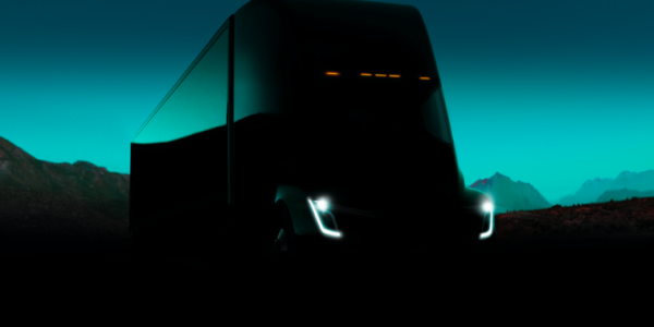 photo image A first look at Tesla's promised electric semi