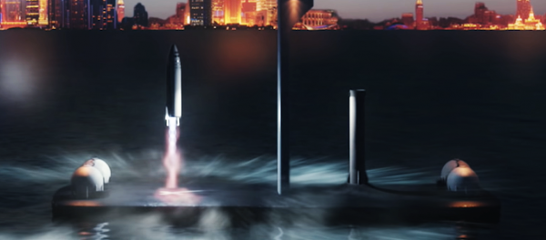 SpaceX is turning oil rigs into floating…