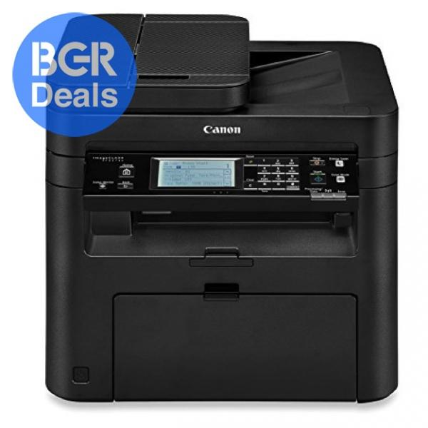 Save 75% on a Canon black and white multifunction laser printer on Amazon