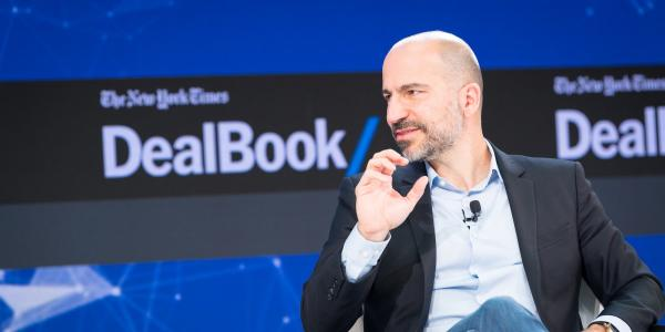 photo image Uber's CEO already told Goldman Sachs the real plan: It's not to replace taxis, it's to replace your car