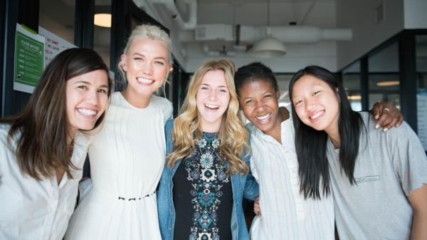Karlie Kloss' coding camp covers more cities and languages this year