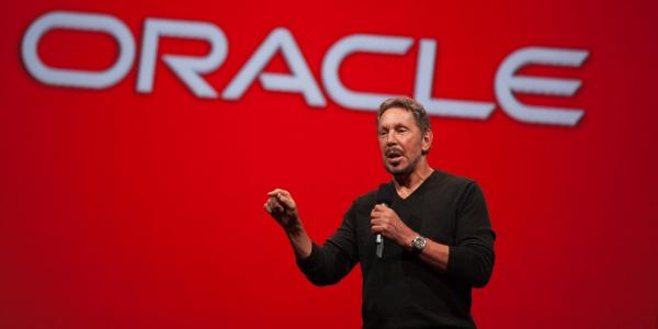 photo of Larry Ellison says Oracle's new database is pulling companies away from Amazon Web Services (ORCL) image