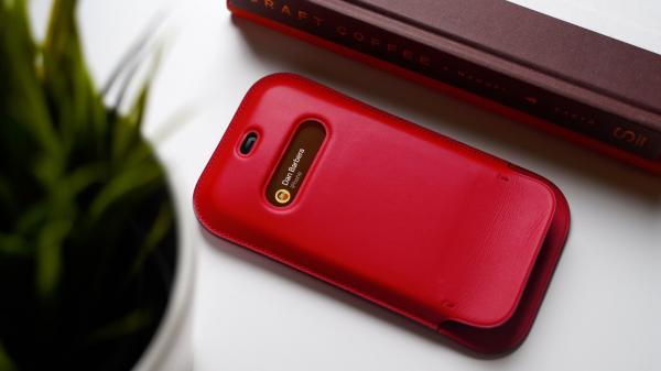 Hands-On With the Leather Sleeve for…