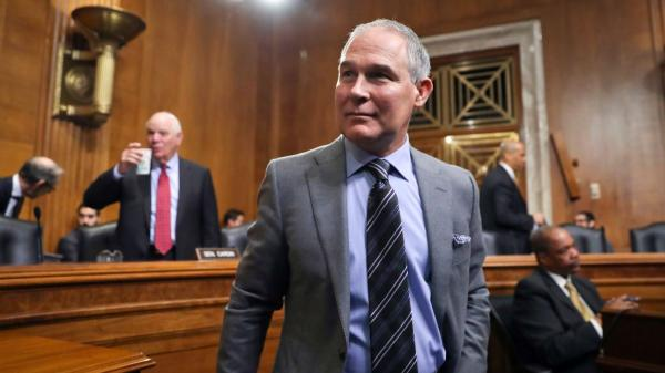 photo image EPA Chief Scott Pruitt Says the Bible Teaches Us to 'Harvest' 'Natural Resources' Like Gas, Oil and Coal