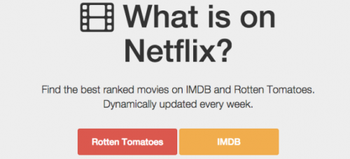 You'll Never Not Know What To Watch On Netflix Again