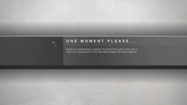 photo image Destiny 2 'is temporarily at capacity' and everyone is mad about it