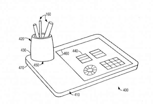 Microsoft may be working on a docking station for digital pens