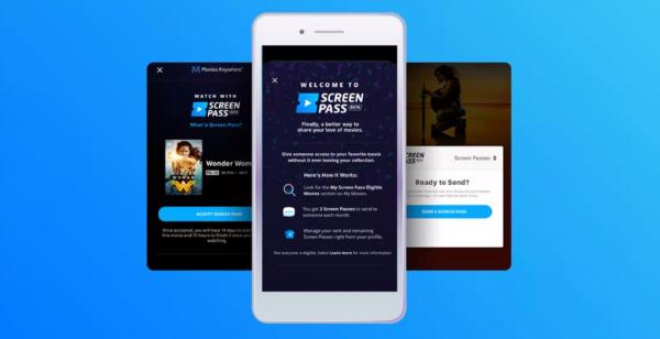 Movies Anywhere launches movie-sharing feature 'Screen Pass' into open beta