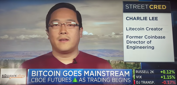 photo image Litecoin creator issues stern warning after the cryptocurrency doubles in a single day