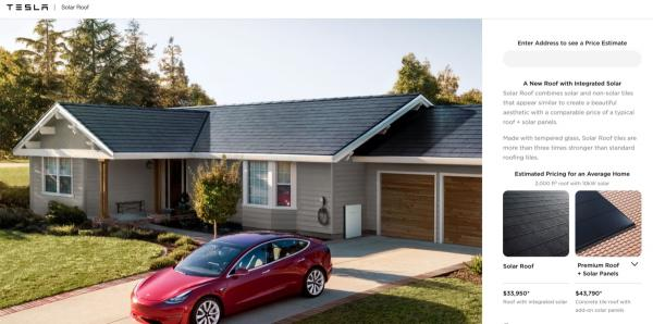 photo of Elon Musk post update on international Tesla Solar Roof roll-out image