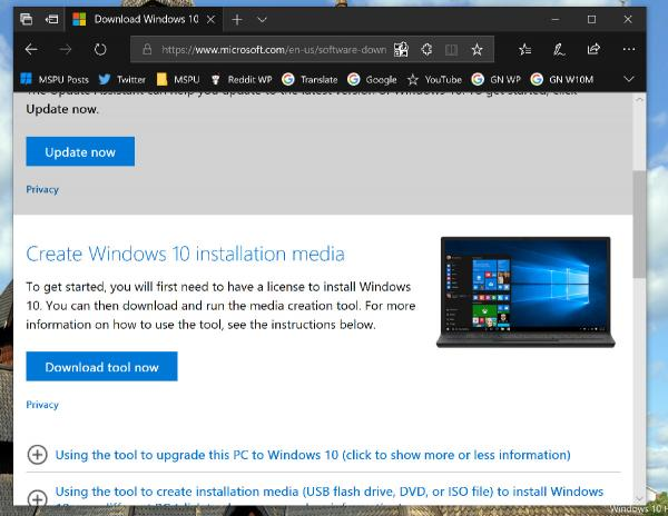 photo image Tip: How to easily download the Windows 10 ISO without using the Media Creation Tool