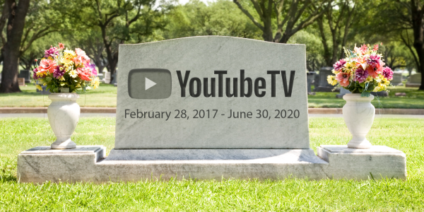 ProBeat: RIP YouTube TV, you'll make a…